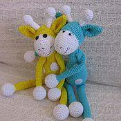 Куклы и игрушки ручной работы. Ярмарка Мастеров - ручная работа Жирафки. Handmade.