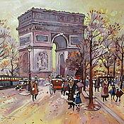 Картины и панно ручной работы. Ярмарка Мастеров - ручная работа Париж. Handmade.