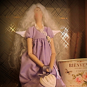 Куклы и игрушки ручной работы. Ярмарка Мастеров - ручная работа Лавандовый ангел. Handmade.