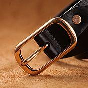 Аксессуары handmade. Livemaster - original item Genuine leather belt