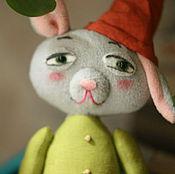 Куклы и игрушки ручной работы. Ярмарка Мастеров - ручная работа Заяц. Мягкая игрушка. Гном. Handmade.