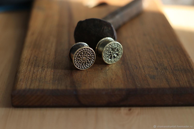 Bead for lanyard and bracelet, Souvenir weapon, Volgograd,  Фото №1