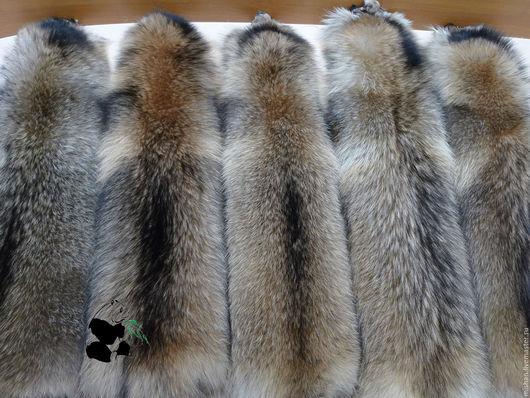 Шитье ручной работы. Ярмарка Мастеров - ручная работа. Купить Мех енота (енотовидной собаки). Большие шикарные шкуры.. Handmade.