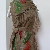 Одежда handmade. Livemaster - original item Vest-transformer