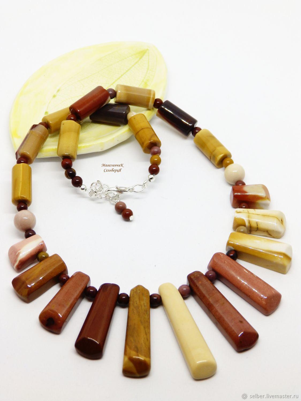 Necklace made of Jasper, Mukai, Necklace, Gatchina,  Фото №1