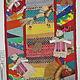 """Этно ручной работы. Ярмарка Мастеров - ручная работа. Купить Текстильное панно  """"Традиции"""". Handmade. Разноцветный, Традиции, лён"""