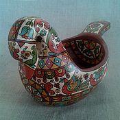 Русский стиль handmade. Livemaster - original item Bucket Swan. Handmade.