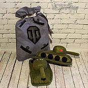 Обувь ручной работы handmade. Livemaster - original item Slippers Tanks. Handmade.