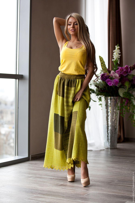 Skirt 'boho Green', Skirts, St. Petersburg,  Фото №1