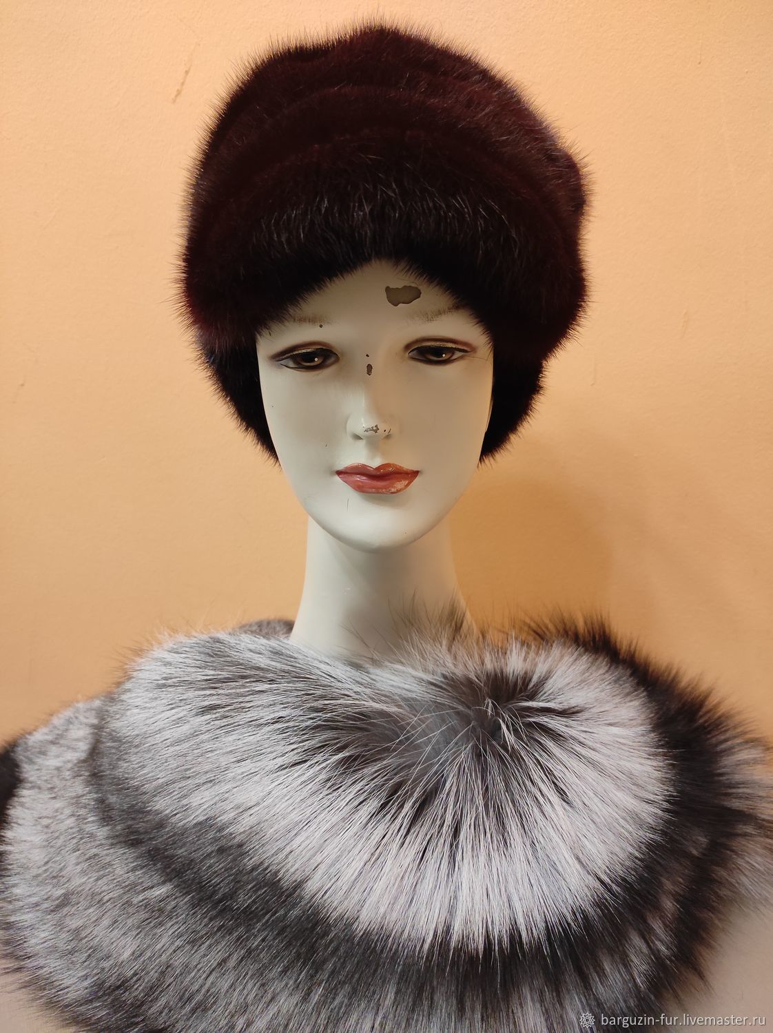 Sable fur hat, Caps1, Moscow,  Фото №1