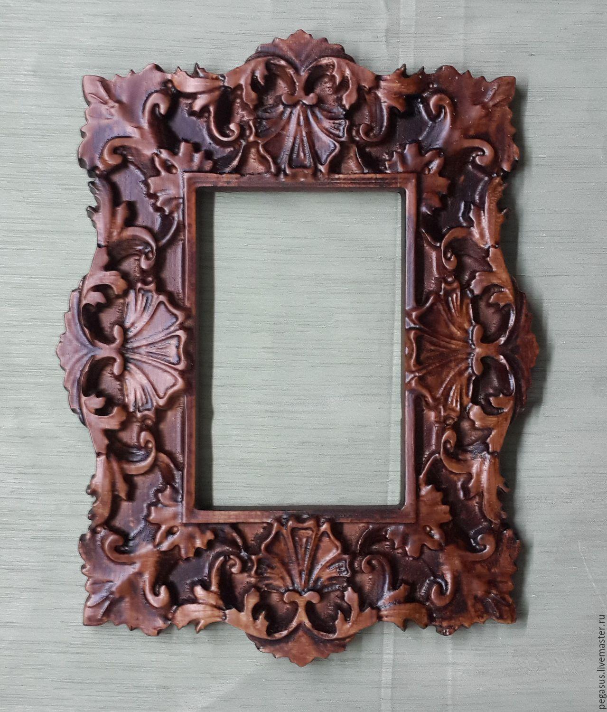 деревянная рамка для зеркала фото нужный нам