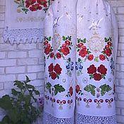 Рушники ручной работы. Ярмарка Мастеров - ручная работа Свадебный рушник оберег. Handmade.