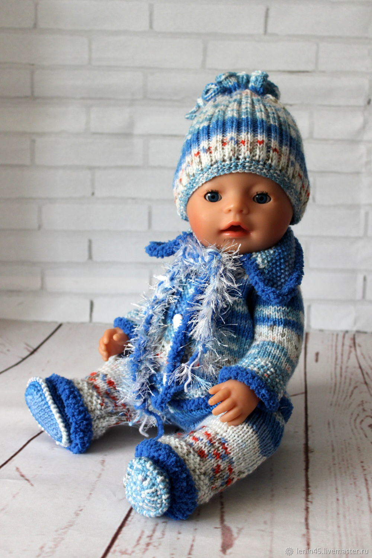 Вязаный комплект одежды для Беби Бон, Одежда для кукол, Стерлитамак,  Фото №1