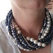 Украшения handmade. Livemaster - original item Necklace Starfall pearls natural.. Handmade.