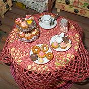 """Куклы и игрушки ручной работы. Ярмарка Мастеров - ручная работа Миниатюра 1:12, пирожные, пончики, """"корзиночки"""", выпечка.. Handmade."""