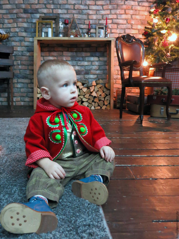 Костюм для мальчика на новый год гнома