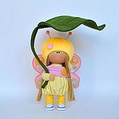 Куклы и пупсы ручной работы. Ярмарка Мастеров - ручная работа Интерьерная кукла бабочка. Handmade.