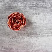 Украшения handmade. Livemaster - original item Orange felt brooch.. Handmade.