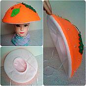 Аксессуары handmade. Livemaster - original item Ginger mushroom hat for baby boy girl autumn. Handmade.