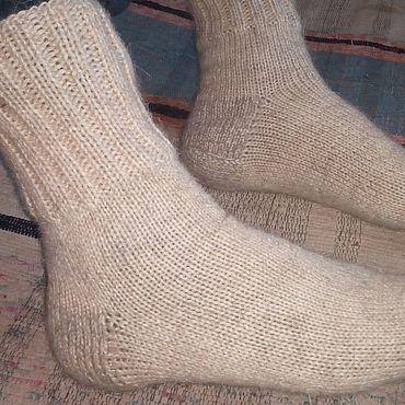 Аксессуары ручной работы. Ярмарка Мастеров - ручная работа Шерстяные носки из овечьей шерсти. Handmade.