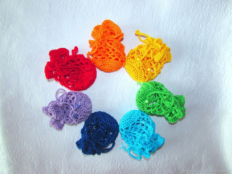 """Мешочки для пасхальных яиц """"7 цветов радуги"""", Мешочки для подарков, Москва,  Фото №1"""
