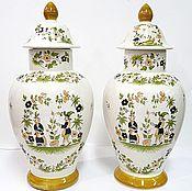 Винтаж handmade. Livemaster - original item French large vases with lids. Handmade.