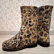 Обувь ручной работы handmade. Livemaster - original item Boots women`s felted. Handmade.