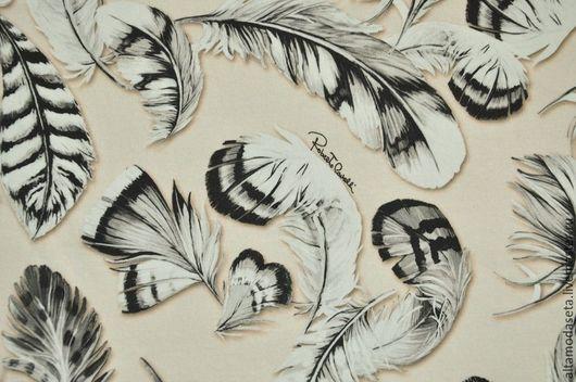 """Шитье ручной работы. Ярмарка Мастеров - ручная работа. Купить Трикотаж футер """"Roberto Cavalli"""", Италия. Handmade. Ткани для рукоделия"""