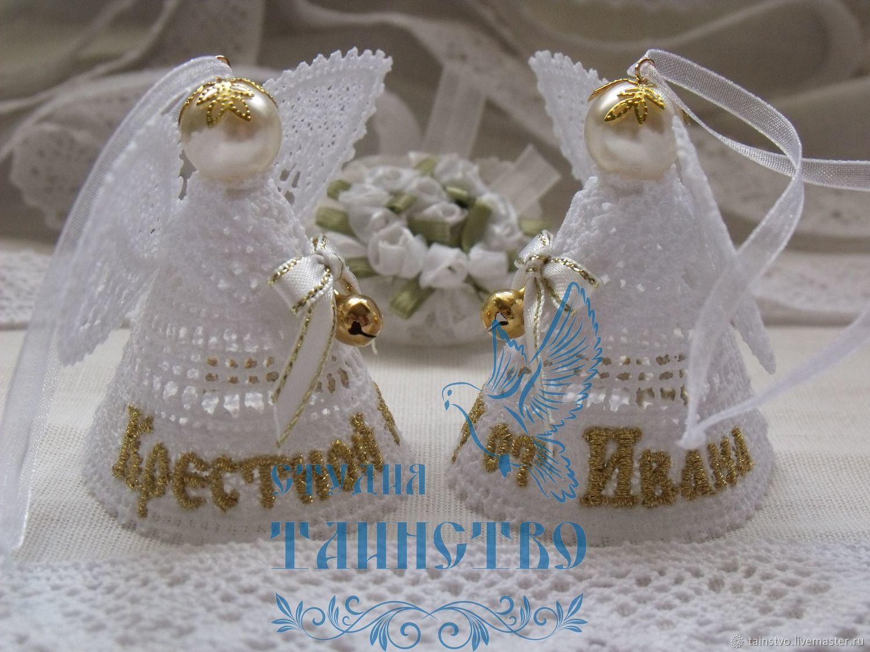 Подарки на крестины девочке от крестных родителей, от 36