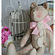 Куклы Тильды ручной работы. Ярмарка Мастеров - ручная работа. Купить Очаровательные мишки. Handmade. Разноцветный, тильда, шебби лента