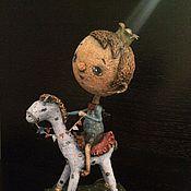 Куклы и игрушки ручной работы. Ярмарка Мастеров - ручная работа Принц на белом коне. Handmade.