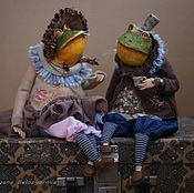 Куклы и игрушки ручной работы. Ярмарка Мастеров - ручная работа Чайная парочка. Жан и Жанетта.. Handmade.