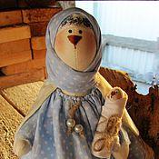 Куклы и игрушки ручной работы. Ярмарка Мастеров - ручная работа Заюшка Вивея с малюткой. Handmade.