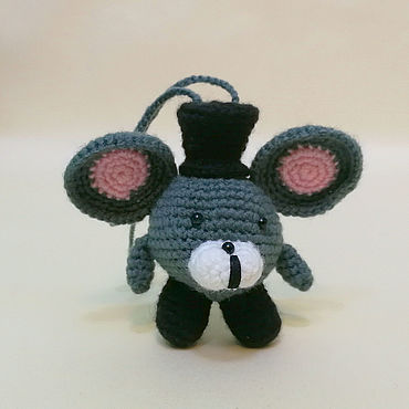 Куклы и игрушки ручной работы. Ярмарка Мастеров - ручная работа Новогодняя игрушка, мышь.. Handmade.
