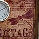 """Часы для дома ручной работы. Часы """"VINTAGE"""". Некрасова Екатерина (katxarina). Ярмарка Мастеров. Часы ручной работы"""