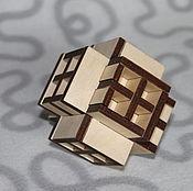 Куклы и игрушки ручной работы. Ярмарка Мастеров - ручная работа Пазл Пространственный крест. Handmade.