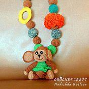 Одежда ручной работы. Ярмарка Мастеров - ручная работа Слингобусы с обезьянкой.. Handmade.