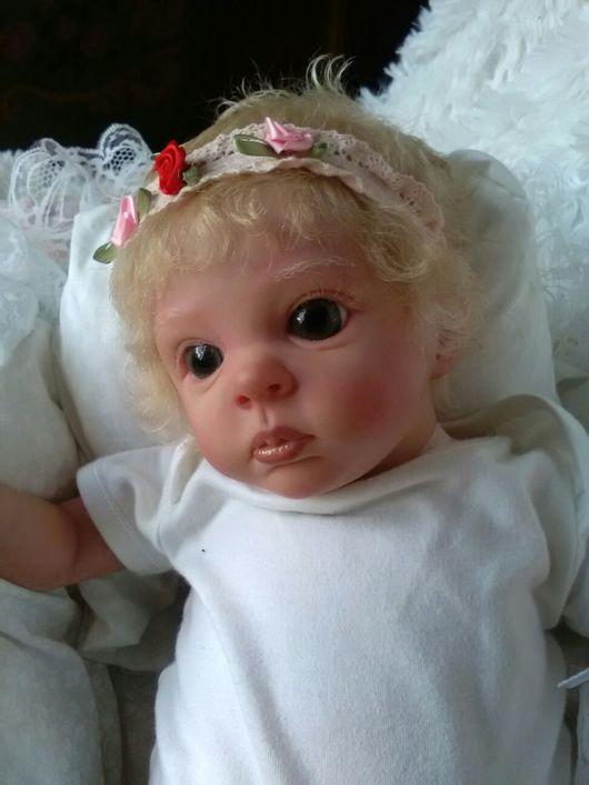 Куклы-младенцы и reborn ручной работы. Ярмарка Мастеров - ручная работа. Купить кукла реборн Бемби. Handmade. Бежевый, винил