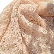 Одежда handmade. Livemaster - original item Jacket from kid-mohair cream. Handmade.