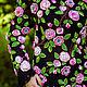 """Платья ручной работы. Платье """"Вечерняя роза"""". Инна Дмитрук (Dmytruk). Ярмарка Мастеров. Платье вязаное крючком, ручная работа"""