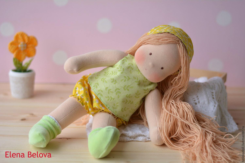 Как из муки сделать куклу