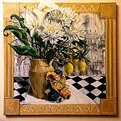 Картины и панно ручной работы. Ярмарка Мастеров - ручная работа Картина маслом Воспоминаниеоб Италии. Handmade.