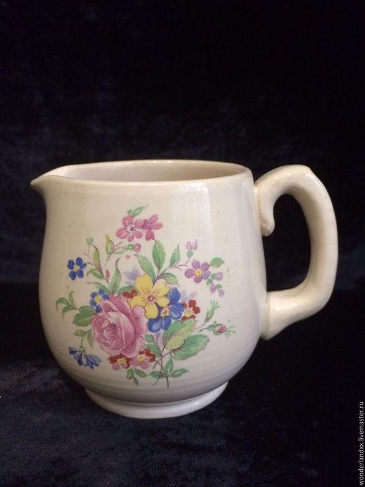 Винтажная посуда. Ярмарка Мастеров - ручная работа. Купить милый кувшинчик, молочник, Англия. Handmade. Комбинированный, винтаж