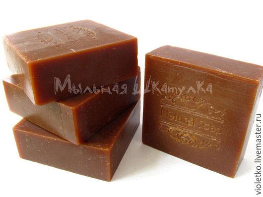 Мыло ручной работы. Ярмарка Мастеров - ручная работа. Купить Натуральное мыло(с нуля)  Медовое. Handmade. Коричневый, медовое мыло