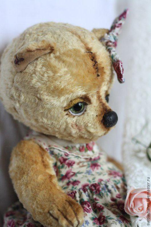 Мишки Тедди ручной работы. Ярмарка Мастеров - ручная работа. Купить Тасенька. Handmade. Бежевый, подарок, воск пчелиный