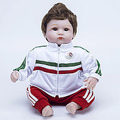 Куклы и пупсы ручной работы. Ярмарка Мастеров - ручная работа Куклы и пупсы: Куклы Reborn: Кукла Reborn, футболист Мексика. Handmade.