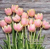"""Картины и панно ручной работы. Ярмарка Мастеров - ручная работа Фотокартина """"Тюльпаны"""". Handmade."""