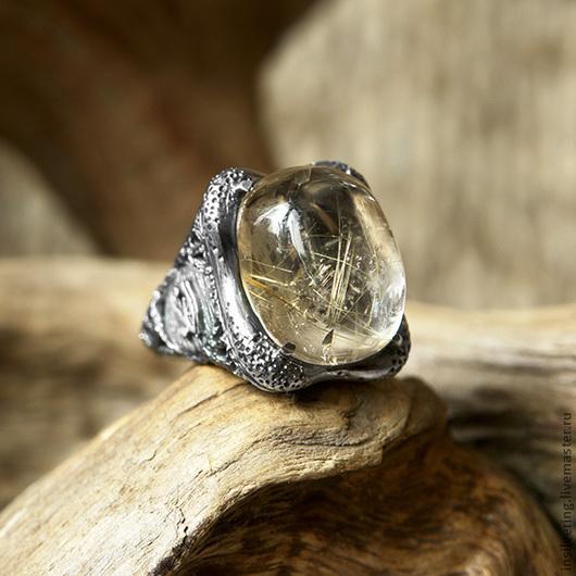 """Кольца ручной работы. Ярмарка Мастеров - ручная работа. Купить Кольцо """"Око Гора"""". Handmade. Кольцо, серебряный, горный хрусталь"""