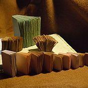 Блокноты ручной работы. Ярмарка Мастеров - ручная работа Формат А11 !!! Очень состаренная бумага. Изготовим блоки и блокноты. Handmade.