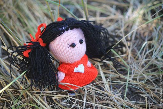 Человечки ручной работы. Ярмарка Мастеров - ручная работа. Купить Вязаная кукла Тати. Handmade. Кукла, авторская кукла, роза